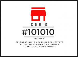 Bloomington - DEB's 101010 project logo