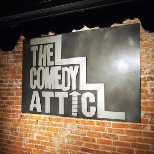 Deb Tomaro REAL Real Estate Today - At Home in Bloomington - Comedy Attic interior